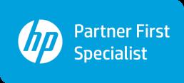HP Partner First Specialist logo